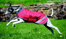 Hundedecke Regendecke,wasserdicht,Bridelway equestrian,rot Gr.M