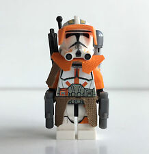 "LEGO star wars custom 212. Clone Commander ""Cody"" + top Custom Equipment"