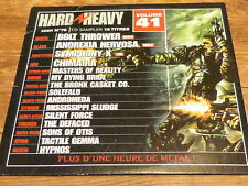Various ‎– HARD & HEAVY 41 !!! BOLT THROWER  !!!!!!!!!!!! ! RARE CD FRANCE