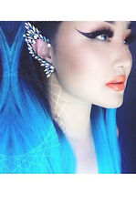 AWESOME FASHION RHINESTONE ELF EAR CUFF EARRING HALLOWEEN FUNKY *RIGHT EAR ONLY