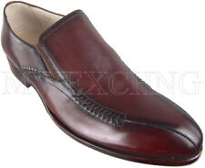 CALZOLERIA ZENOBI ITALIAN HAND CRAFTED MENS SHOES LOAFERS BLAKE EU SIZE 45