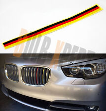 FOR BMW Z3 Z4 M3 M5 M6 BLK YELLOW FRONT KIDNEY GRILL GRILLE STICK ON STRIPS