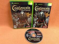 Castlevania Curse of Darkness Original XBOX Game Fast FREE SHIPPING Complete!
