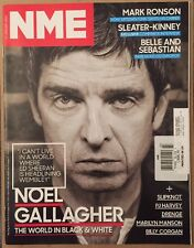 NME Noel Gallager Mark Ronson Slipknot Marilyn Manson Jan 2015 FREE SHIPPING!