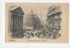 London Mansion House & Cheapside Vintage Postcard 477a
