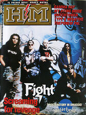 HM 156 1993 Fight Gamma Ray My Dying Bride Treponem Pal Type O Negative Cro-Mags