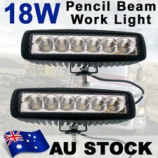 2x 18W Spot LED Off Road Driving Work Light Bar Lamp 4WD Bulb Car Truck AU Stock