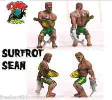 """ZOMBIE PLANET Surf Rot Sean Surfer Dude 2"""" Toy Figure Figurine Character Zombies"""