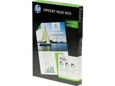 HP CH081AE VALUE SET 920 XL  PHOTO 3x Nr. 920XLC M Y +50Sheets A4 180g MHD2017