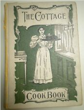 ANTIQUE VICTORIAN THE COTTAGE COOKBOOK 1900 EDITION MRS BEETON VINTAGE COOK BOOK