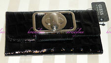 GUESS by Marciano Börse Geldtasche Wallet ENCHANTED Black Lack sexy!!
