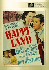 HAPPY LAND (1943 Don Ameche)  - Region Free DVD - Sealed