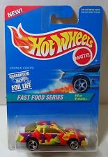 Hot Wheels Fast Food Series #4/4 Crunch Chief collector #419