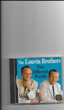 "THE LOUVIN BROTHERS, CD ""TWO DIFFERENT WORLDS"" NEW SEALED"
