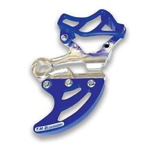 TM Designworks Blue Rear Disc Guard Kit Yamaha 07-17 YZ WR 250F 450F RDP-YZM-BU