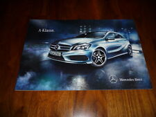 Mercedes benz a-clase folleto 06/2012