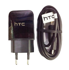 Original HTC 1.5A Rapid AC Charger EU Adaptor For HTC one M10 M9 M8 with cable