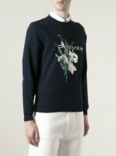 Plus cool: carven homme lily of the valley brodé sweat pull sz s