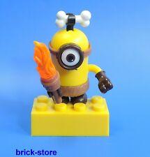 Mega Blocks minions serie 3/personaje (nº 7) caníbal Minion con fuego