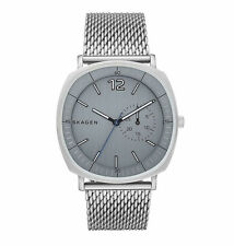 NEW SKAGEN SKW6255 Rungsted Heavy Gauge Stainless Steel Mesh Men's Watch 40mm