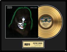 KISS - PETER CRISS SOLO LP GOLDENE SCHALLPLATTE LIMITED ED. 2500 STK.
