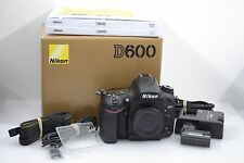 EXC++ NIKON USA D600 BOXED BODY 24.3MP ONLY 3236 ACTUATIONS! CLEAN, TESTED