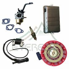 TUNE UP KIT FOR GX160 HONDA GENERATOR CARBURETOR RECOIL AIR FILTER IGNITION COIL