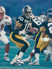 Kordell Stewart ~ Steelers ~ 8x10 Actual Photo ~ NOT A REPRINT - Free Top Loader