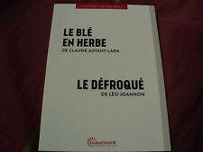 """COF 2 DVD NEUF """"LE BLE EN HERBE Edwige Feuillere / LE DEFROQUE Pierre Fresnay"""""""