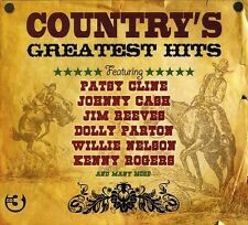 COUNTRY'S GREATEST HITS 3CD NEU WILLIE NELSON/HANK SNOW/JIM REEVES/JOHNNY CASH/