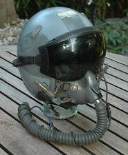 Gentex HGU-55 pilot helmet + MBU12 oxygen mask