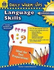 Daily Warm Ups Language Skills Grade 2 by Teacher Created Resources (2009)
