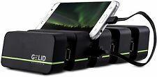 Gelid Solutions Fourza, USB Docking Station, upto 4 x i-Phones, Phones + Tablets