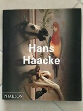 HANS HAACKE phaidon TEXT IN ENGLISH 2004