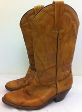 Frye Cowboy Western Leather Boots Mens Brown Size 9 D