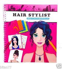 Kids Sketch Portfolio Hair Stylist Hair Design Sketch