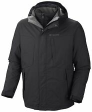 New $220 Columbia Men's Whirlibird III Omni-Heat Omni-Tech 3 in 1 Jacket - XXL