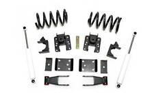 Chevrolet Silverado V6 2-4 Drop Lowering Kit w/ rear shocks 2007+