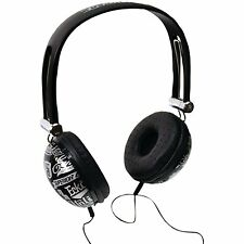 Marc Ecko Unlimited Impact Headphones w/Mic (BLACK) - Feel the Beat!