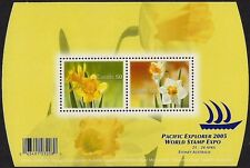 Canada Stamps -Souvenir sheet  -Flowers, Daffodils  #2091 MNH