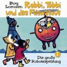 ROBBI, TOBBI UND DAS FLIEWATÜÜT - DIE GROSSE ROBOTERPRÜFUNG  CD  HÖRSPIEL  NEU