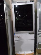 "ZIK30GNDII MONOGRAM 30"" COLUMN REFRIGERATOR FREEZER W/ GLASS DOOR REFRIGERATOR"