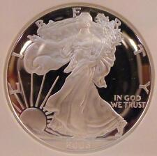 2006 W Proof Silver Eagle NGC PF 70 Ultra Cameo 1 Oz. .999 Silver