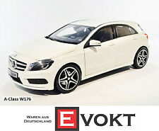 Norev Mercedes-Benz 1:18 A-Class W176 White Model Car Genuine New Great Gift