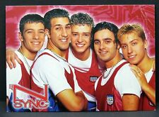N-Sync - AK - Foto Autogramm-Karte - Photo Postcard (Lot F7652