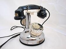 FRENCH  1920s CANDLESTICK PHONE RARE FULLY RESTORED BT CONVERTED LOVELY COND.