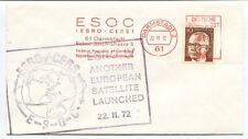 1972 ESOC ESRO IV CERS 61 Darmstadt Robert Bosch Strasse European Satellite NASA