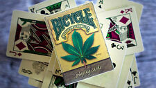 1 Deck Bicycle Hemp Playing Cards New Poker Durable Substainable Stronger Fibers