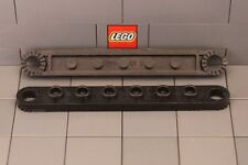 LEGO: Technic Plate 1 x 8 with Holes (#4442) Black