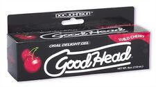 Good Head Oral Delight Gel Wild Cherry, Oral Sex Enhancer 4 fl. oz.